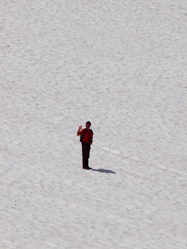 Van egy kis hó az Oberalppa fotó