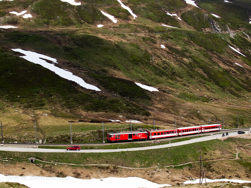 The Matterhorn-Gotthardbahn photo