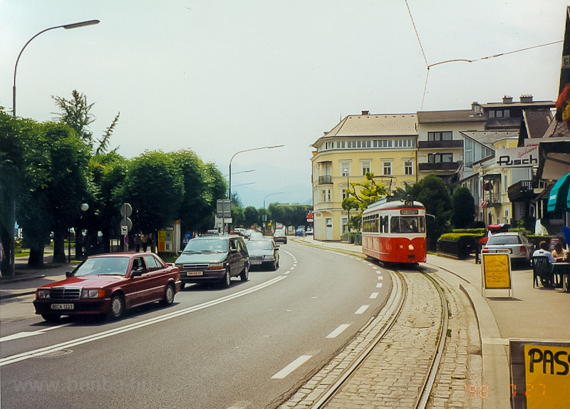 A Gmundener Strassenbahn 10 Gmundenben a Franz Josef Platz végállomáson fotó
