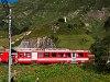 A Furka-Oberalpbahn BDeh 2/4 41 Realp állomáson