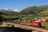 A Matterhorn-Gotthardbahn Ge 4/4<sup>III</sup> 81 Realp állomáson