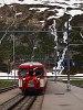 Egy ismeretlen Matterhorn-Gotthardbahn Deh 4/4 I   Oberalppasshöhe-Calmot állomáson