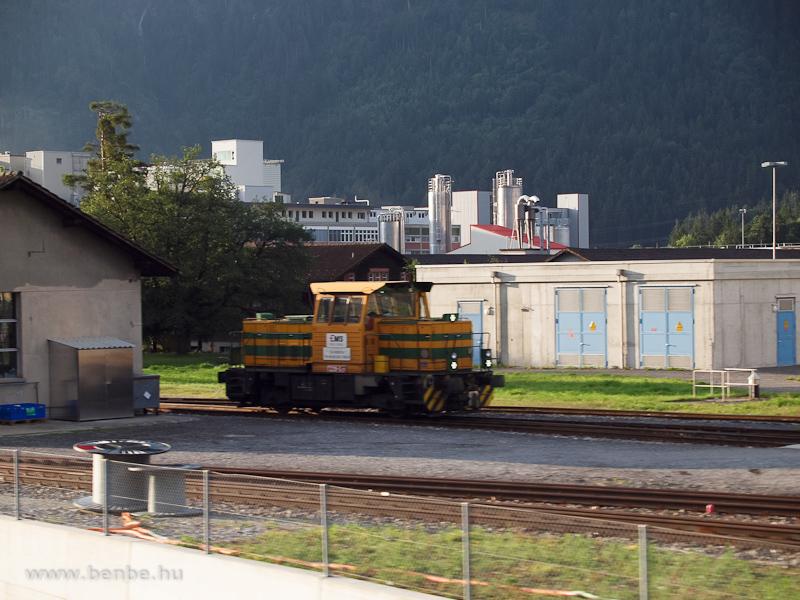 Az Ems Chemie T239-S01 pályaszámú iparvasúti mozdonya fotó