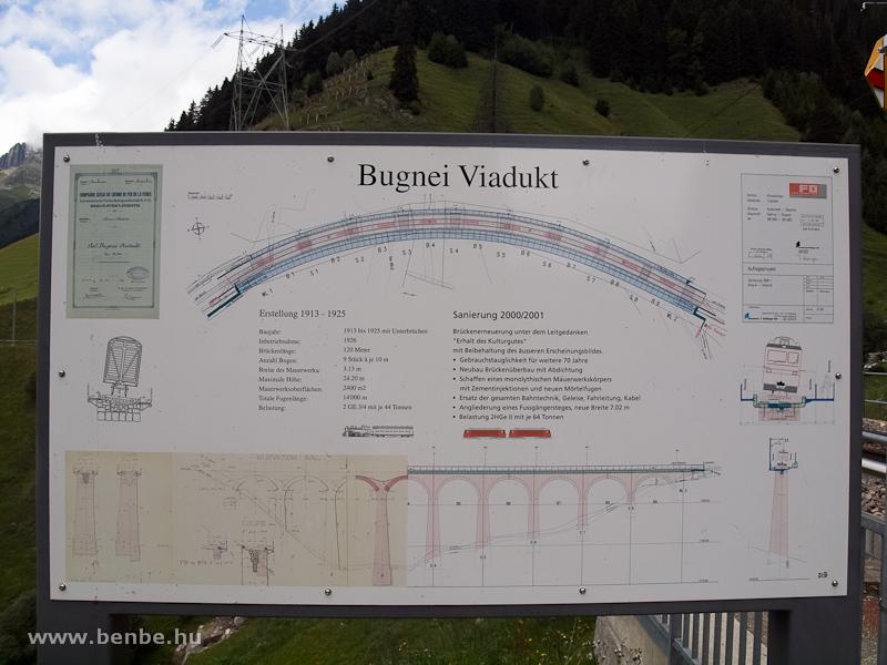 Az MGB Bugnei-viadukt felújítása és egy pár adata fotó