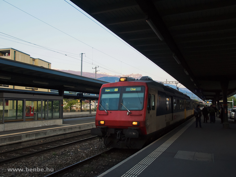 SBB NPZ (Neue Pendelzug) elővárosi motorvonat Sargans állomáson fotó