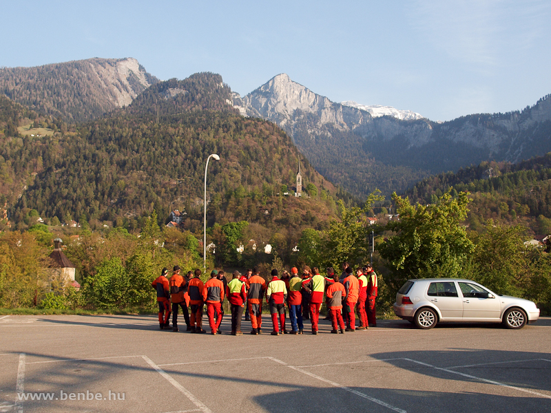 Gyülekezik a PFT-csapat Reichenau-Taminsban fotó