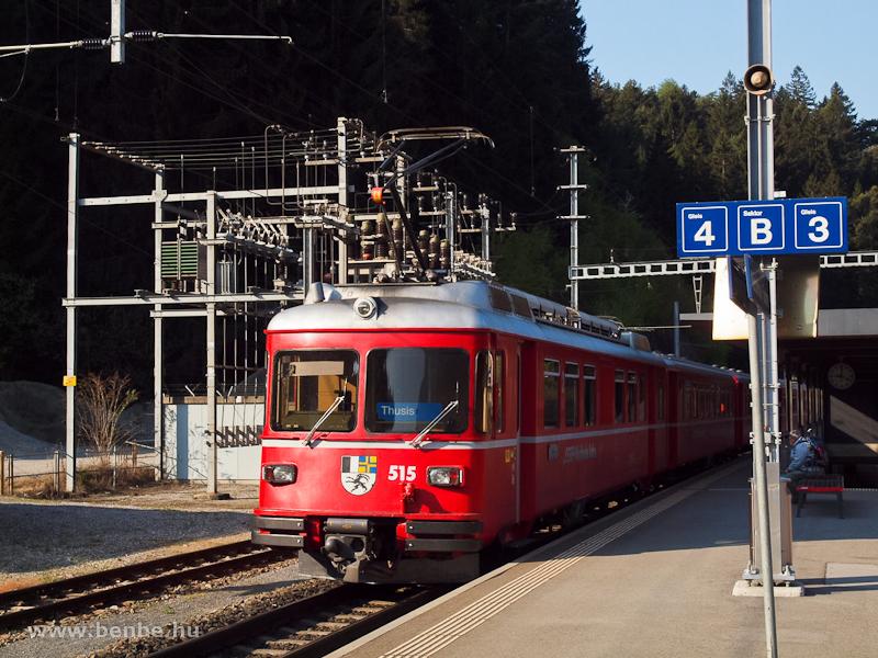 A Be 4/4 515 Reichenau-Taminsban fotó