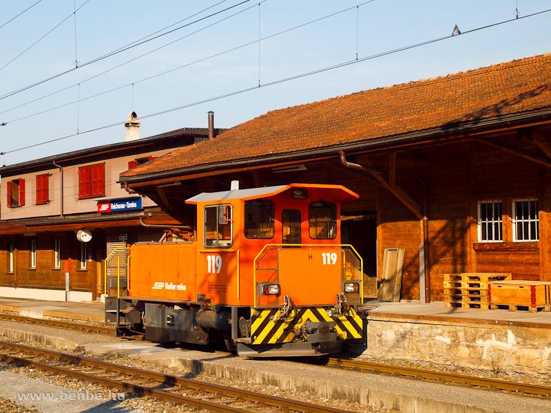 A Tm 2/2 119 Reichenau-Taminsban fotó