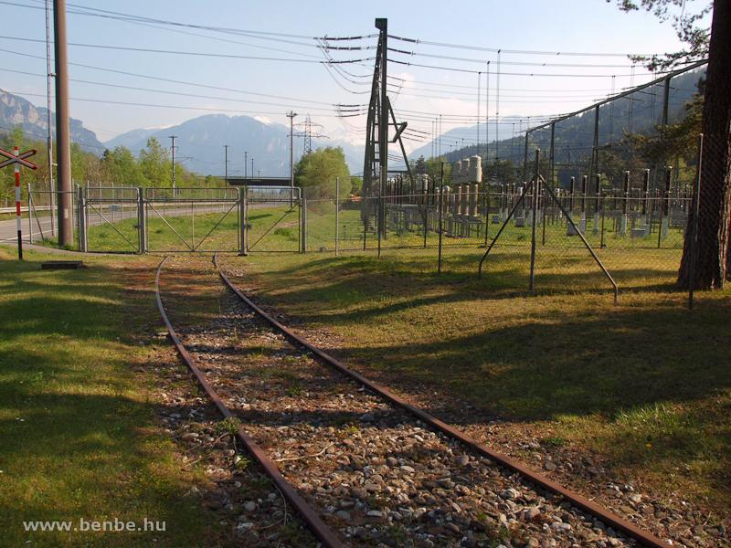 Normál nyomközű iparvágány Rothenbrunnennél fotó