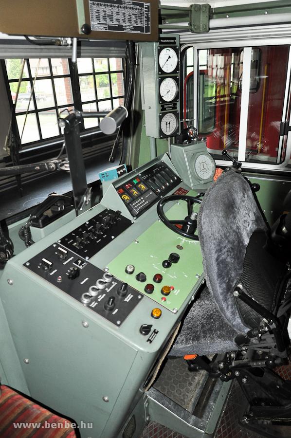 Az RhB Ge 4/4 I  602 vezetőfülkéje fotó