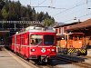 The Tm 2/2 119 and Be 4/4 514 at Reichenau-Tamins