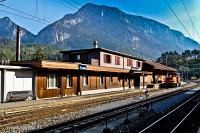 Reichenau-Tamins felvételi épülete