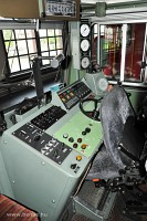 The cab of the RhB Ge 4/4<sup>I</sup> 602