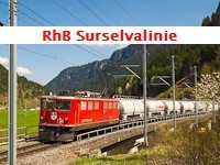 The RhB Surselvalinie