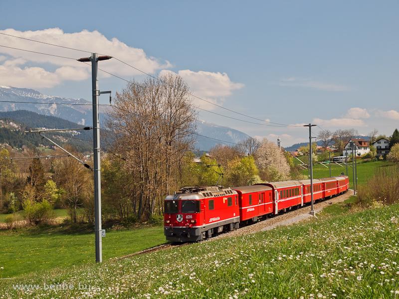 A Ge 4/4 II  626 Castrisch és Ilanz között fotó