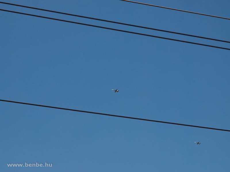 A Karcsi által már megfigyelt vadászgépek Tavanasánál fotó