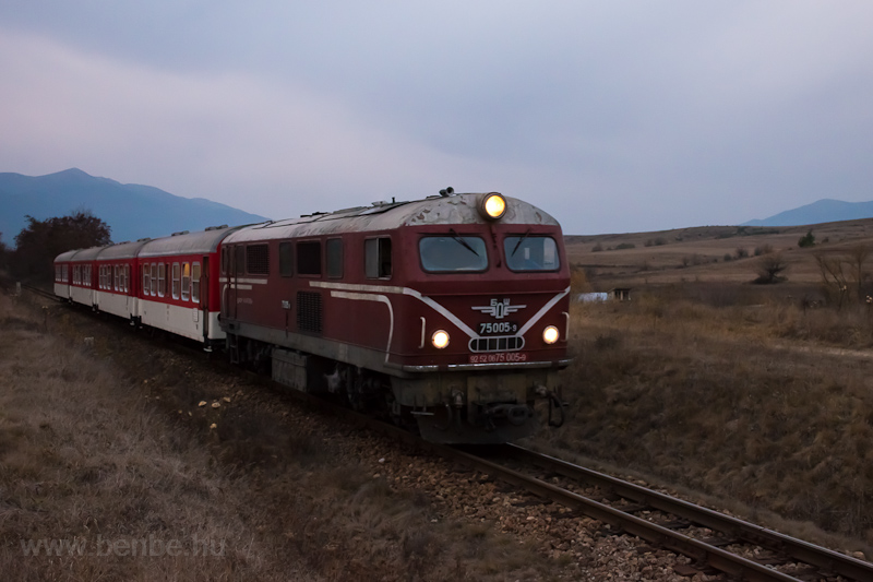 The BDŽ 75  005-9 seen photo