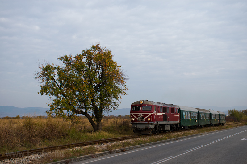 The BDŽ 75 006-7 seen  picture