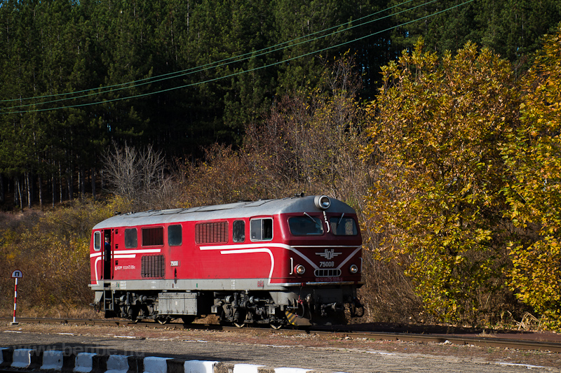 The BDŽ 75  006-7 seen photo