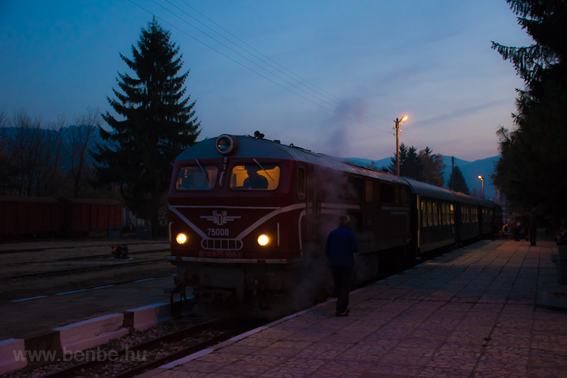 The BDŽ 75 008-3 at Ve photo