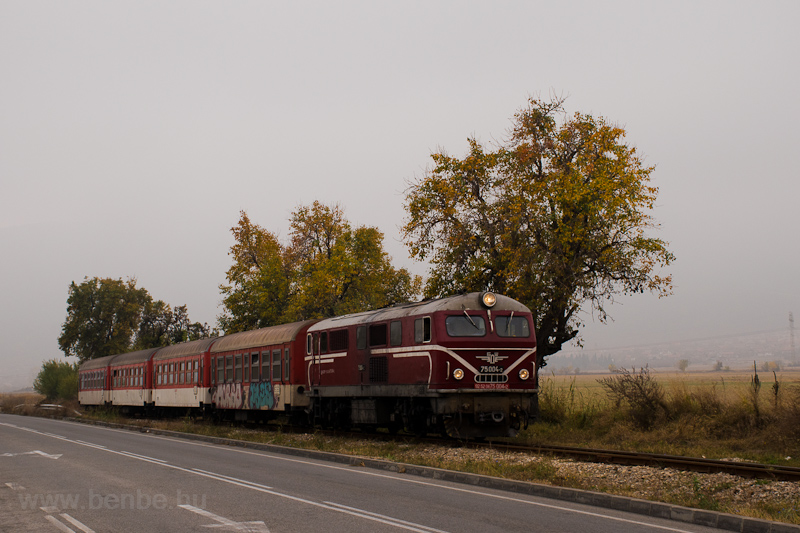 The BDŽ 75 004-2 seen  photo