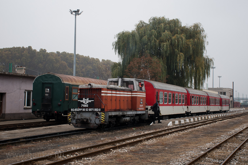 The BDŽ 71 002-0 seen  picture