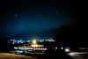 A BDŽ 75 004-2 Yurukovo megállóhelyen egy csillagos éjszakán