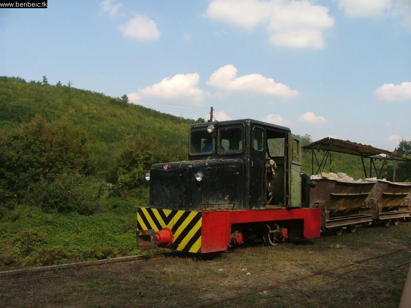 A bánki bányavasút mozdonya fotó