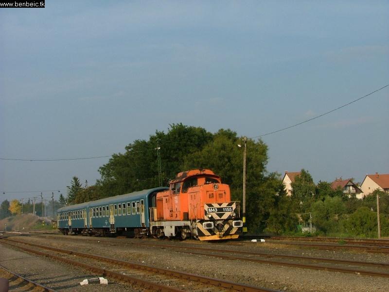 A gépcsere megtörtént (M43 1155) fotó