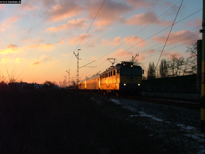 V43 1140 Vecsést elhagyva fotó