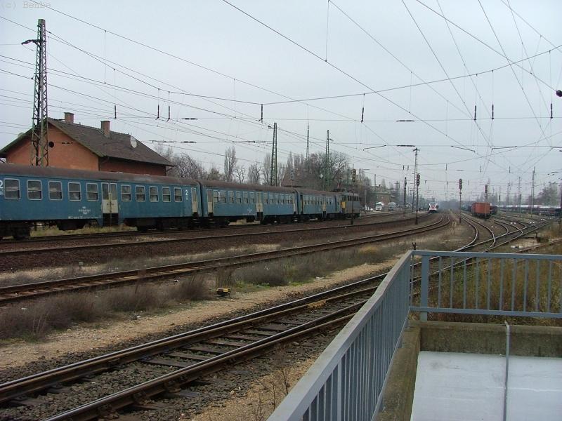 Budaörs állomás látképe fotó