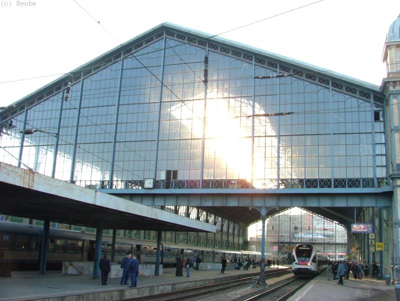 Nyugati pályaudvar, csarnok fotó