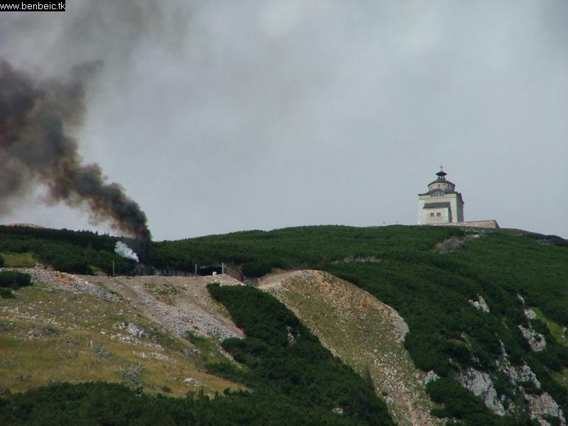 A Schneeberg csúcsa fotó