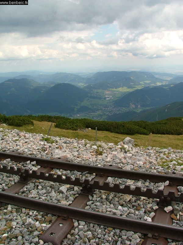 Puchberg - ezúttal magasabbról fotó