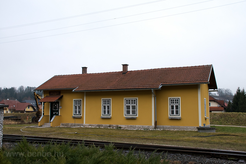 The station building at Asc photo