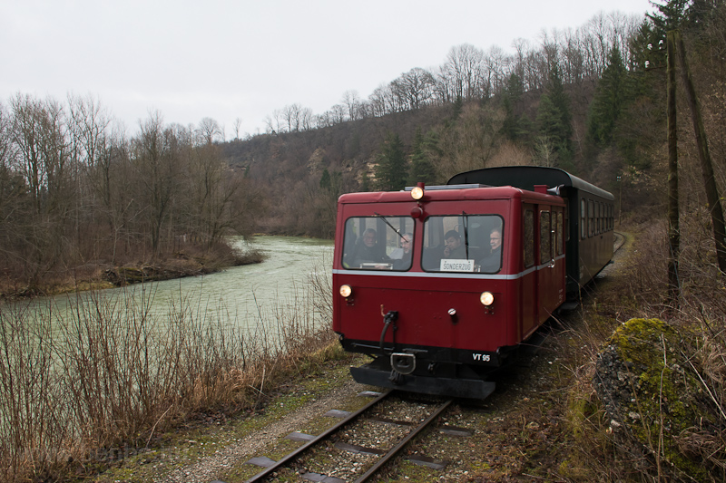 The Steyrtalbahn VT 95 seen picture