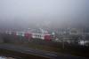 Az ÖBB 6020 310-6 Mürzzuschlag és Spital am Semmering között a ködben