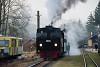 A Steyrtalbahn 498.04 Grünburg állomáson
