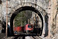 Az ÖBB 1016 007 Wolfsbergkogel és Breitenstein között a Kleines Krausel Tunnel előtt