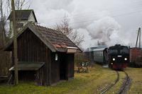 A Steyrtalbahn 498.04 Waldneukirchen megállóhelyen