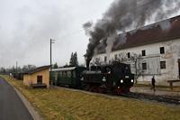 A Steyrtalbahn 498.04  Sommerhubermühle megálló-rakodóhelyen