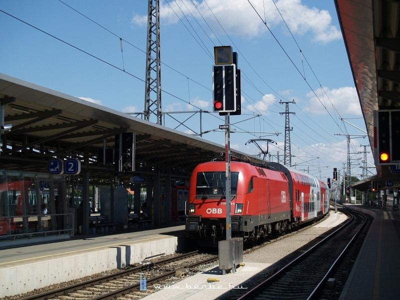 RegionalExpress vonat Bécsújhelyen fotó