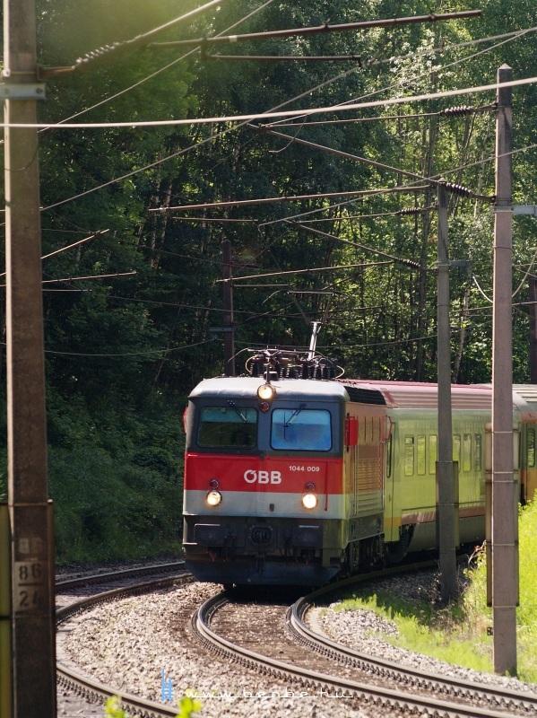 1044 009 a Steinbauer tunnel-nél fotó