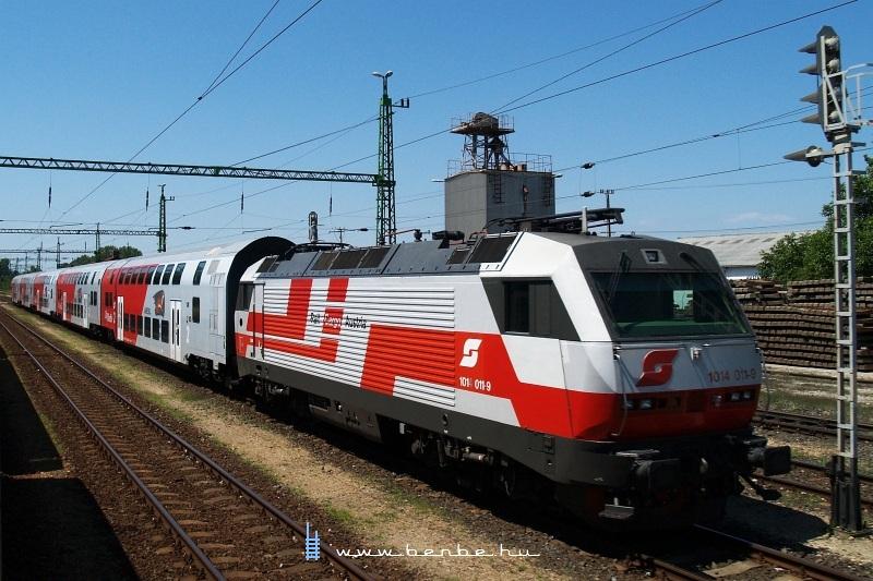 RailCargoAustria 1014 011-9 Fertõszentmiklóson fotó