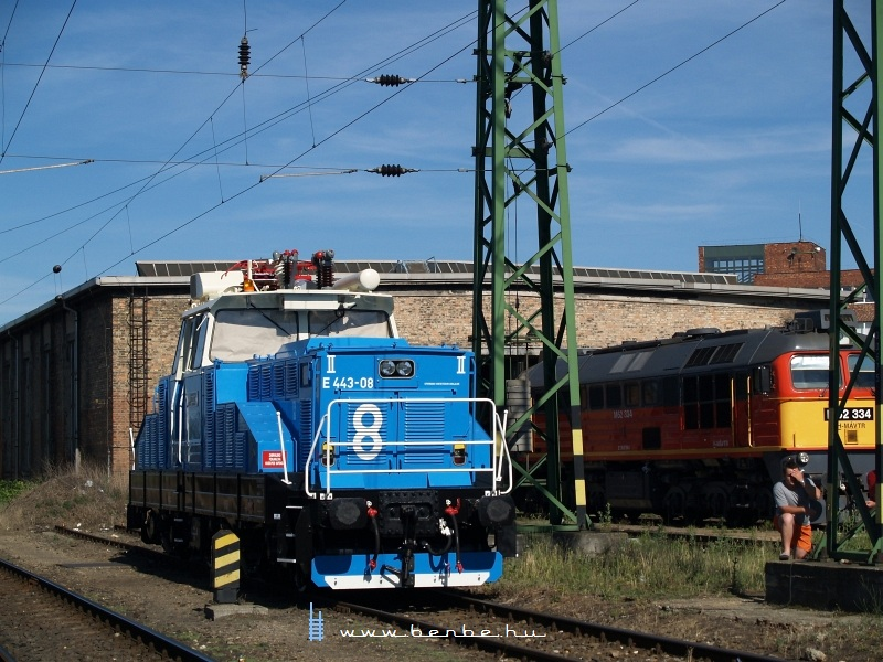 TENT E443-08 és M62 334 Budapest-Ferencvárosban fotó