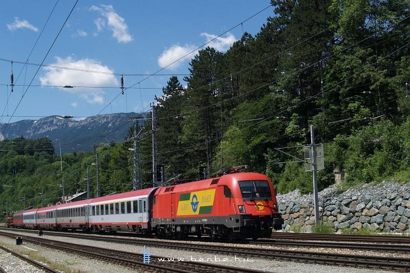 1116 059-5 Payerbach-Reichenau állomáson fotó