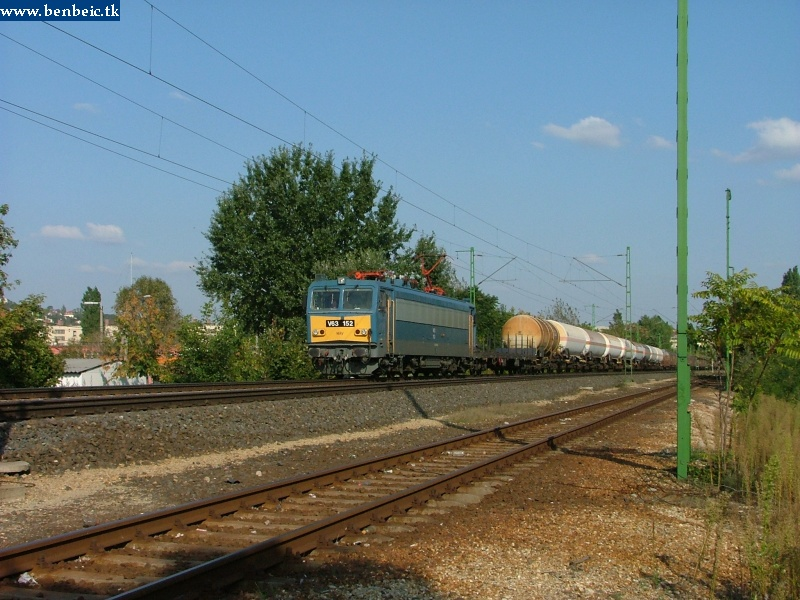V63 152 tehervnattal Kelenföld elõtt fotó