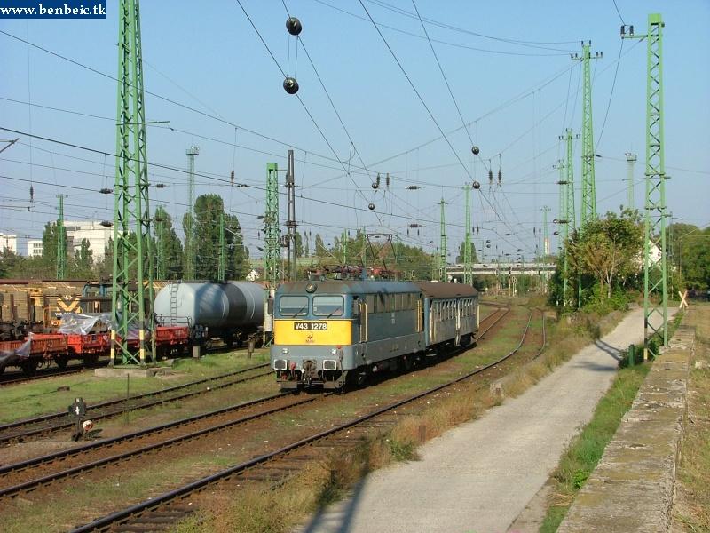 V43 1278 a prolivonattal Ferencvárosban fotó