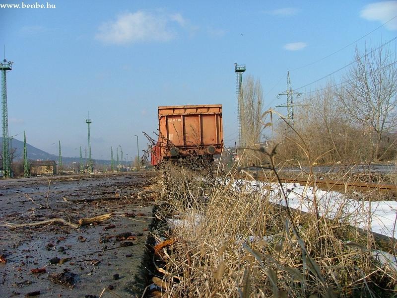 Rakodásra váró teherkocsik Óbudán fotó