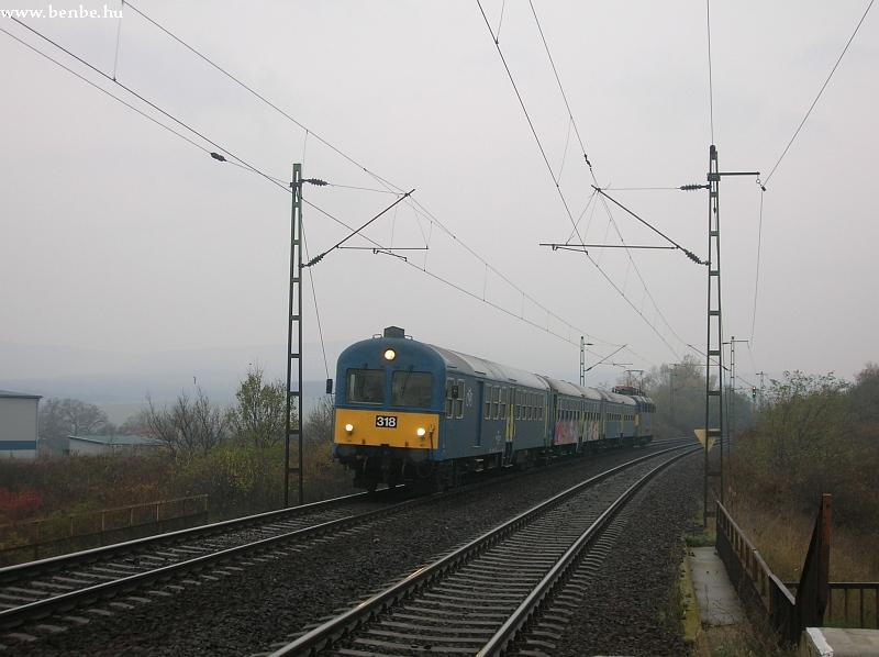 BDt 318 Szár megállóhelyen fotó